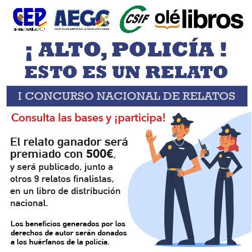 Concurso relatos Policia
