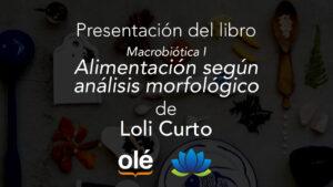 Macrobiótica I de Loli Curto. Loto azul